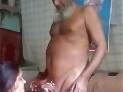 Horny desi man having sex with her young daughter in law
