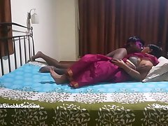 indian bengali couple late night erotic sex in their bedroom
